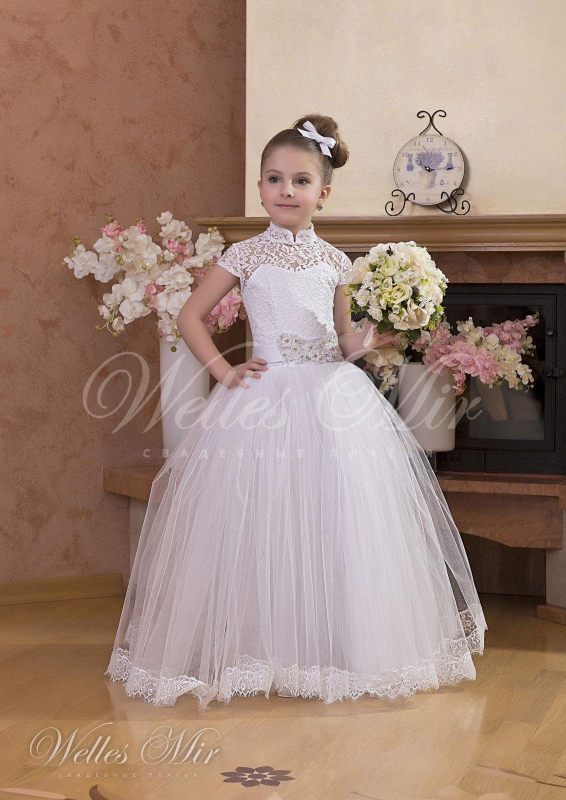 Весільна дитяча сукня