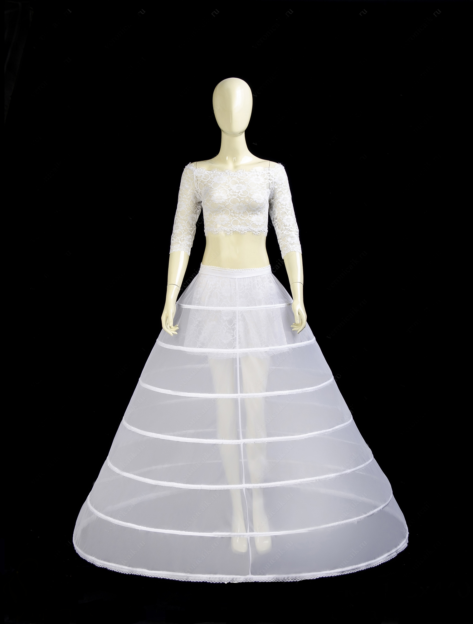 Де купити під'юбник з кільцями для весільної сукні