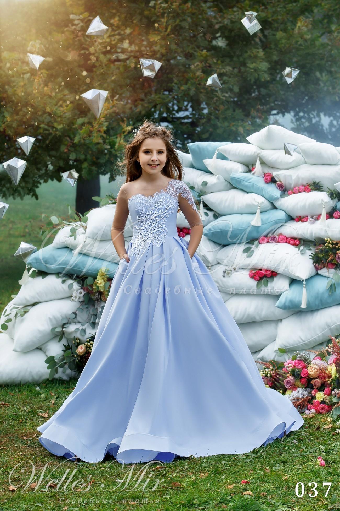 Нарядное детское платье от Wellesmir