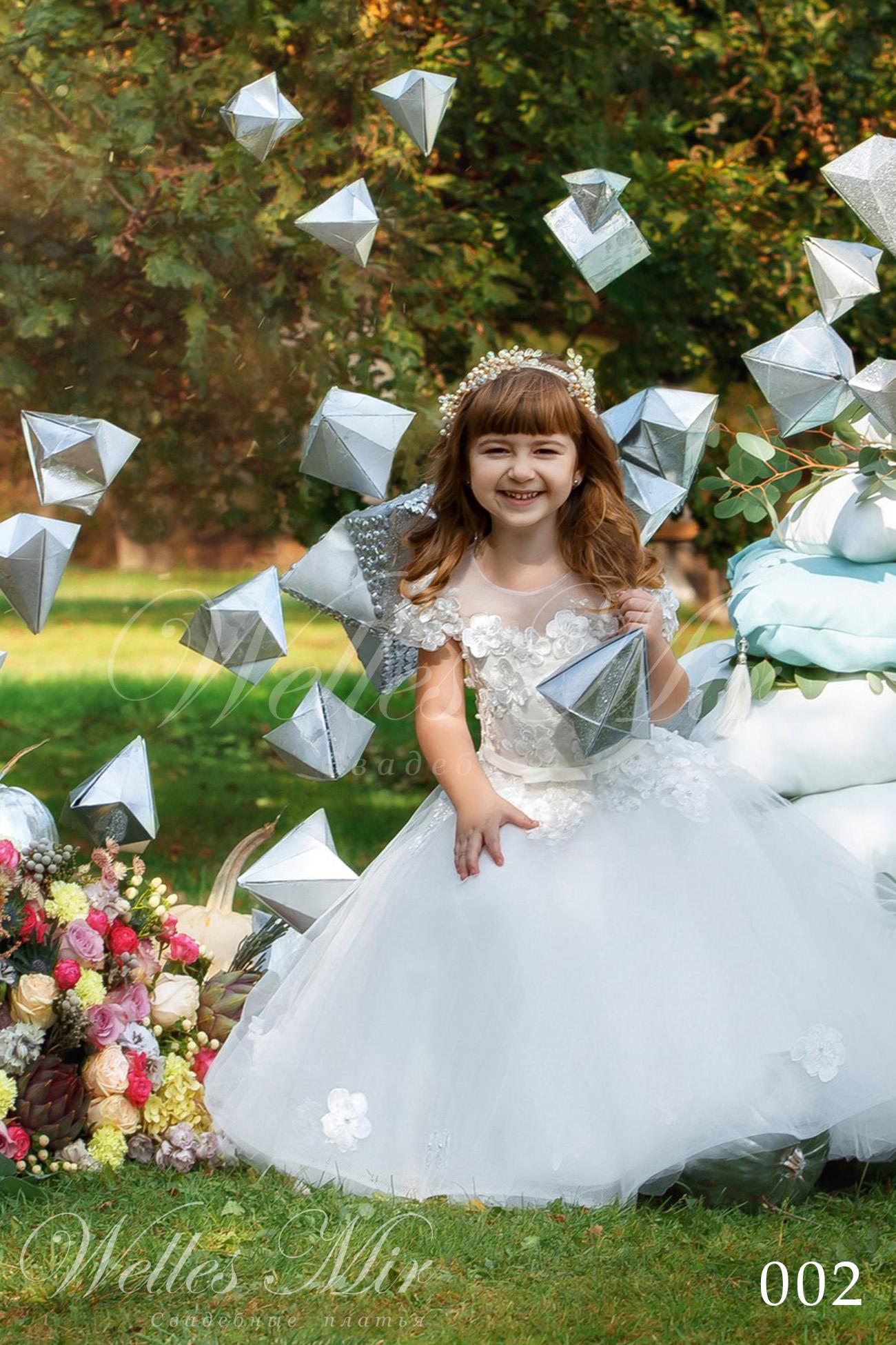 Дитяча святкова сукня фото