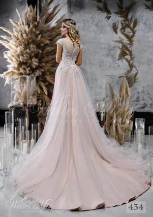 Мереживна весільна сукня-трансформер оптом-2