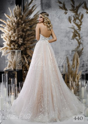 Пишна весільна сукня а-силуету оптом-2