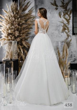 Весільна сукня А-силуету з легким корсетом-2